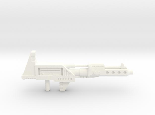 Prowldimus Prime pistool in White Processed Versatile Plastic
