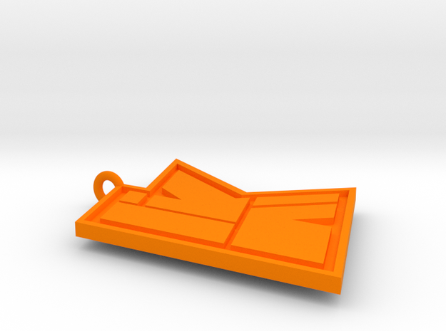 KwebbelkopLogo in Orange Processed Versatile Plastic