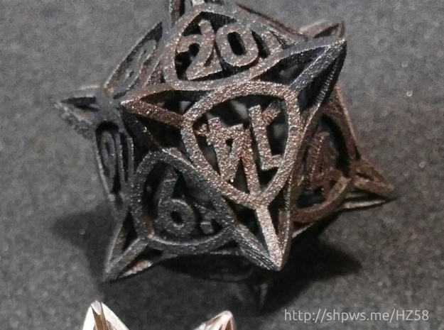 'Center Arc' dice, D20 MTG Spindown Life Counter