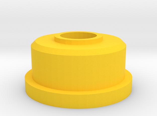Tracker Entretoise Pvc in Yellow Processed Versatile Plastic