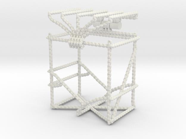 Trading Card Deck Box, Chains Design