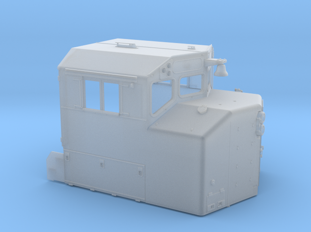 "CB0015 CN SD40-2W CAB REBUILT ""A"" 1/87.1 in Smoothest Fine Detail Plastic"