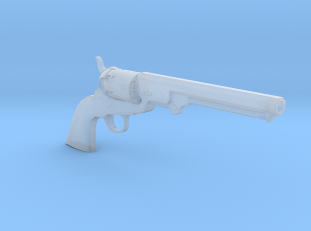 1/4 Scale Colt 1851 Navy in Frosted Ultra Detail