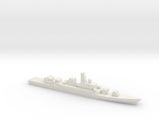PLA[N] Type 053H2G Frigate, 1/1800 in White Strong & Flexible