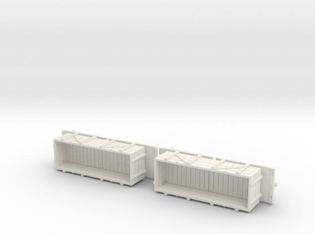 A-1-64-wdlr-c-wagon-full-plus1-x2 in White Natural Versatile Plastic