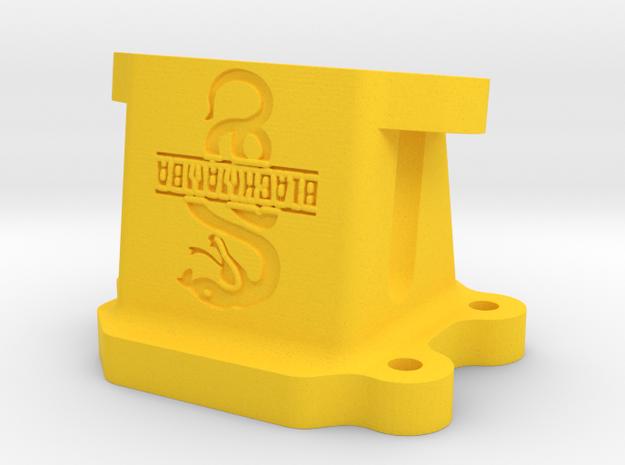 Kreidler KT Membraanhuis/Membrankasten/RV Case in Yellow Strong & Flexible Polished
