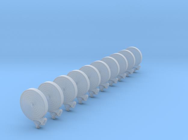 B-Schlauch Doppelt Gerollt 10x  in Smooth Fine Detail Plastic