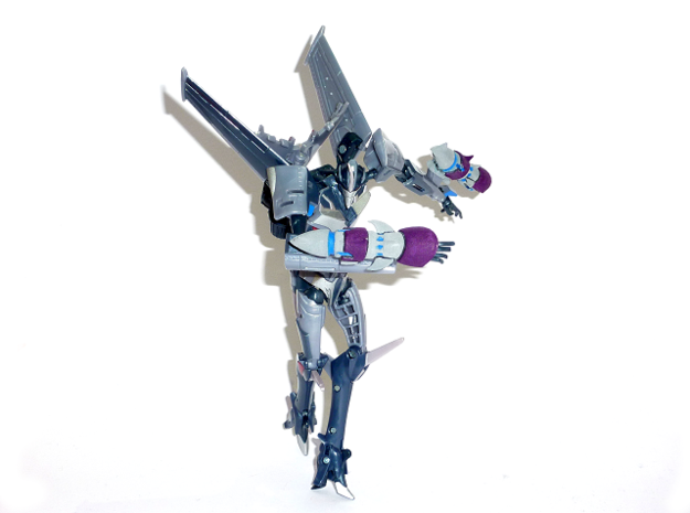 TFP Starscream Fusion Boosters 3d printed Fusion Boosters (Painted WSF)