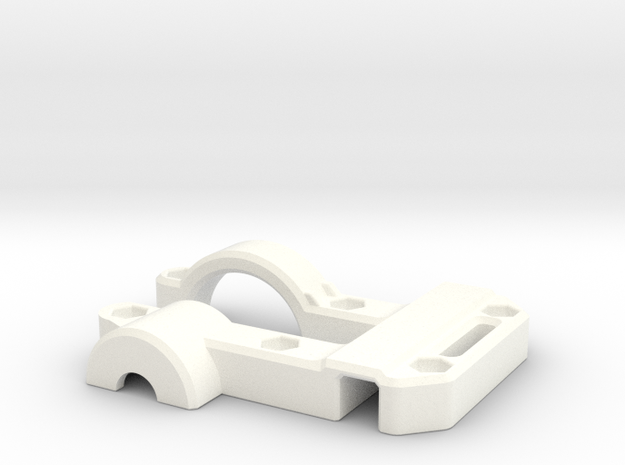 OD Fundus  - Clip Body in White Processed Versatile Plastic