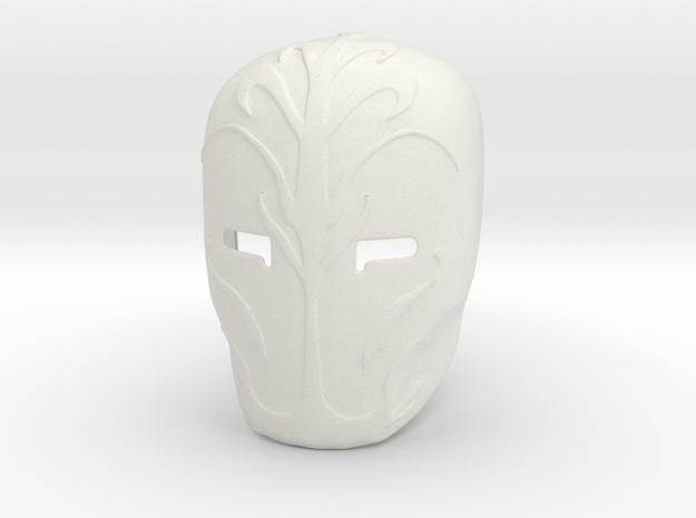 Star Wars - Jedi Gaurd Mask in White Natural Versatile Plastic