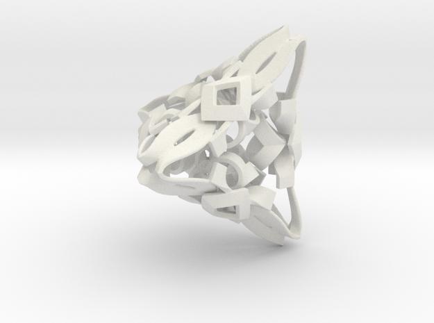 Rubber Branding Method in White Natural Versatile Plastic