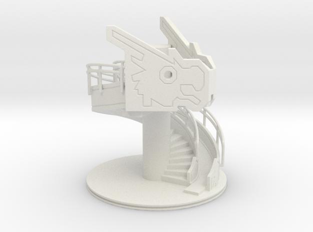 Baby Dragon Playground in White Natural Versatile Plastic