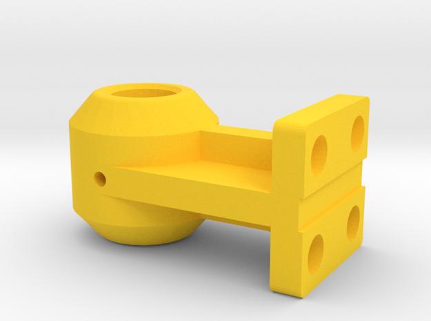 Tracker Bride F2 in Yellow Processed Versatile Plastic