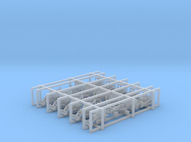 Caterpillar Equipment Set - Tscale in Smooth Fine Detail Plastic