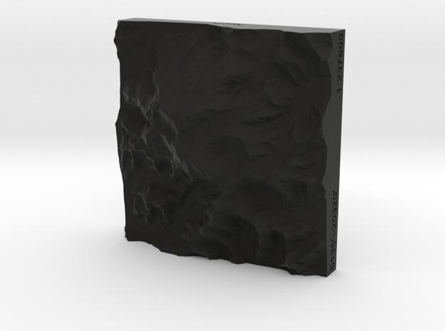 3'' Denali, Alaska, USA, Sandstone 3d printed