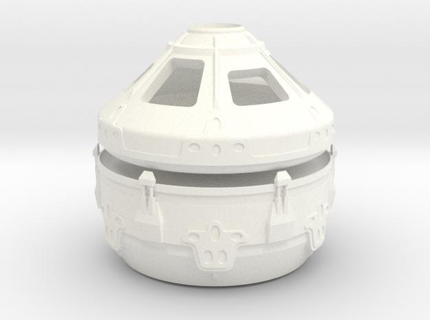1/144 NASA/JPL MAV CONVERTIBLE CAPSULE in White Processed Versatile Plastic