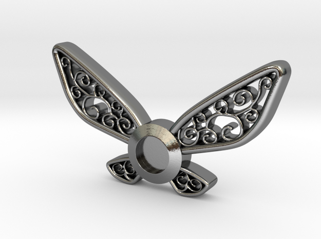 Navi Pendant in Polished Silver