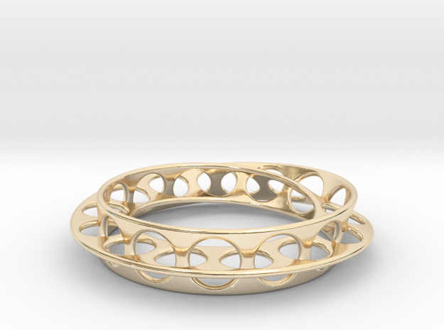 Mobius Ring in 14K Yellow Gold