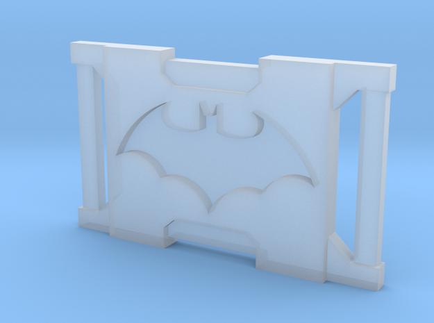 Dark Bat Knight Belt Buckles BB1 1/6TH in Smooth Fine Detail Plastic