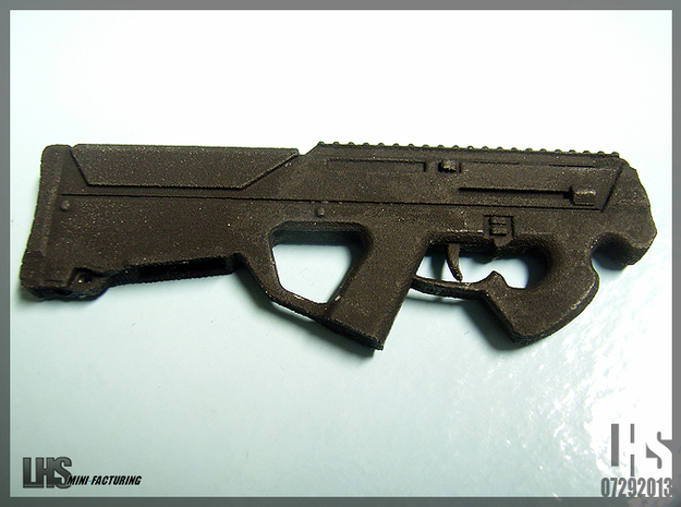 1/6 scale 5.56 Personal Defense Rifle X2 3d printed