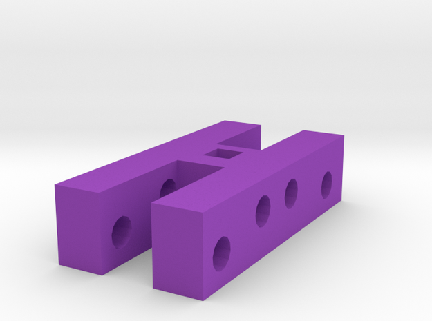 Modeling reel in Purple Processed Versatile Plastic