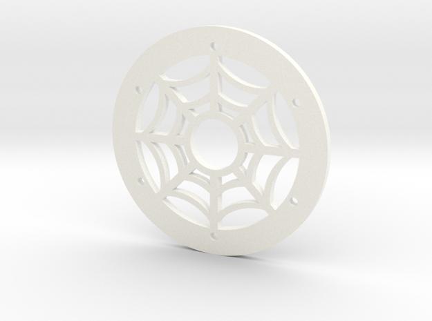 1.9 Spider Ring in White Processed Versatile Plastic