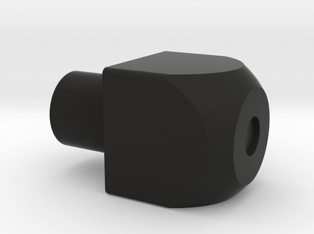 E-11 Stock Cube in Black Natural Versatile Plastic