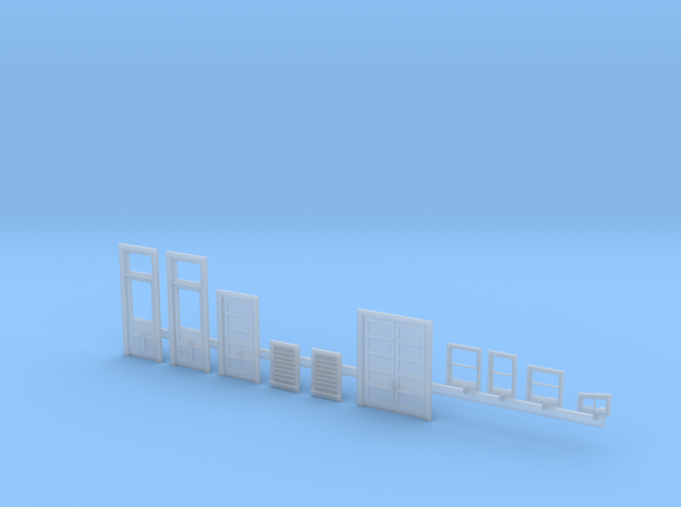 Bagby Hotel - Other parts in Smooth Fine Detail Plastic