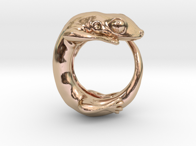 (Size 9) Gecko Ring