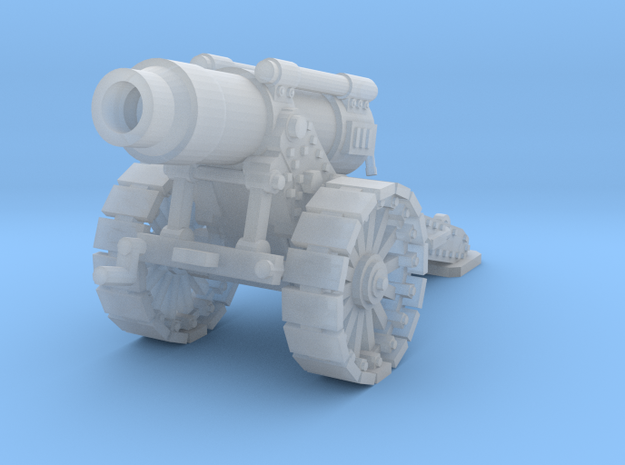 Steampunk Heavy Mortar v.2 in Frosted Ultra Detail