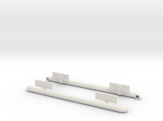 Tamiya Jimny MF01-X sidebar in White Natural Versatile Plastic