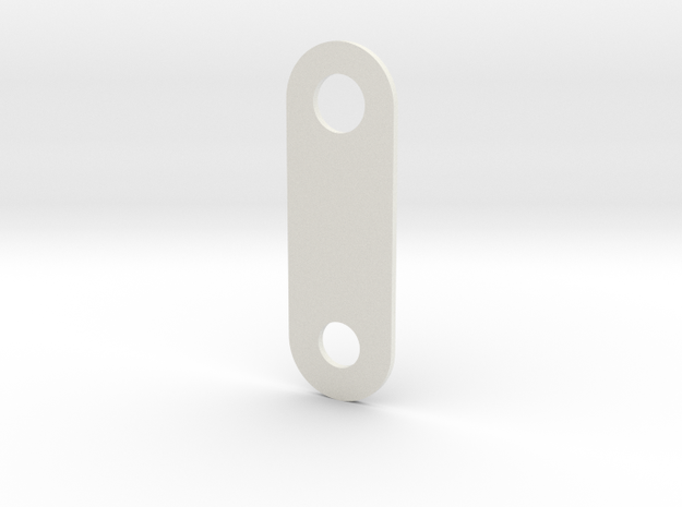 LPA NN-14 - Front plate in White Natural Versatile Plastic