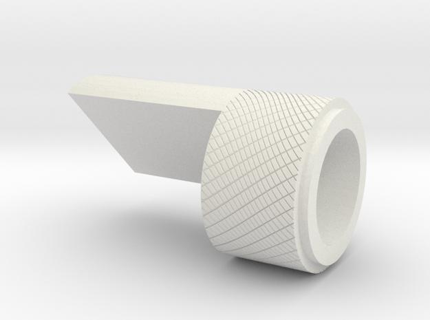 LPA NN-14 - Grip greeble 2 in White Natural Versatile Plastic