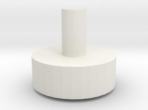 LPA NN-14 - Barrel greeble 2 in White Natural Versatile Plastic