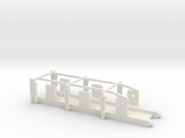 L&YR Tender - EM Chassis in White Natural Versatile Plastic