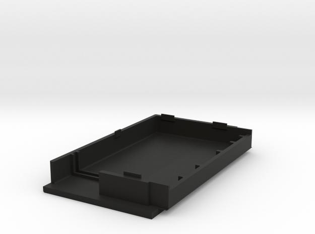 Battery Cover Rechargable Cells Pt1 in Black Natural Versatile Plastic