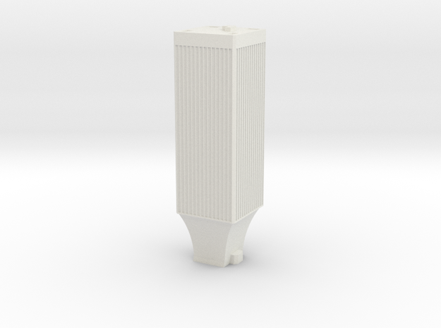 Seattle Rook Building in White Natural Versatile Plastic