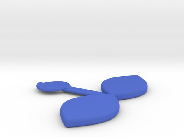發芽書籤 Bud Bookmarks in Blue Strong & Flexible Polished