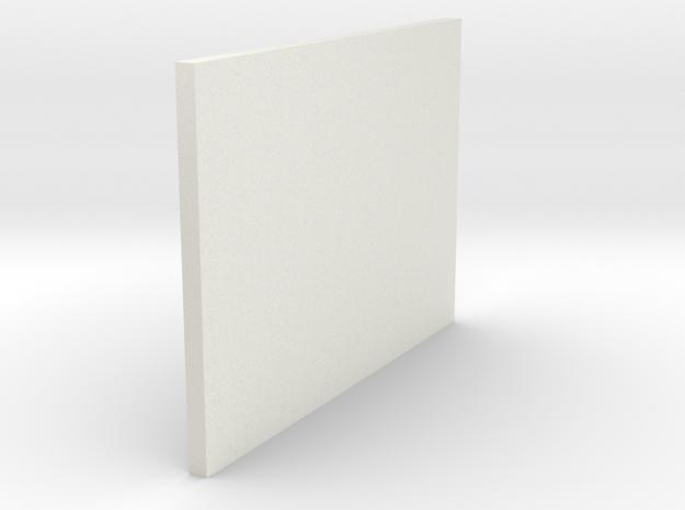 LPA NN-14 - Right side plate in White Natural Versatile Plastic
