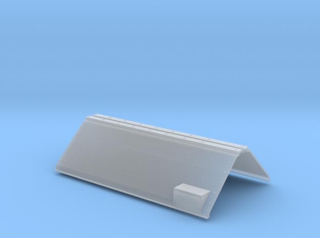 SN0003 SD D2 Spartan Cab Snow Shields 1/87.1 in Smoothest Fine Detail Plastic