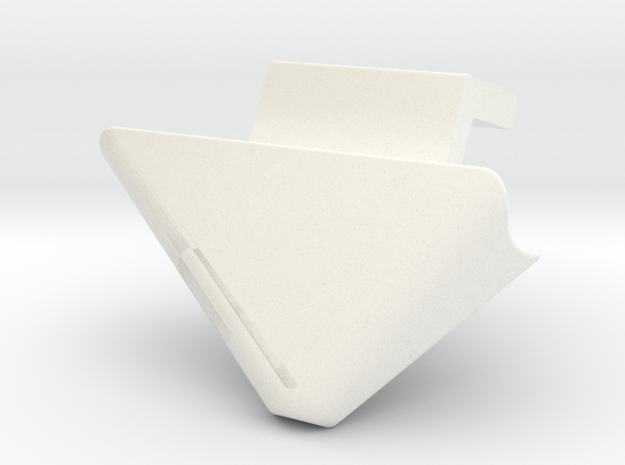 Ptdf Gauche in White Strong & Flexible Polished