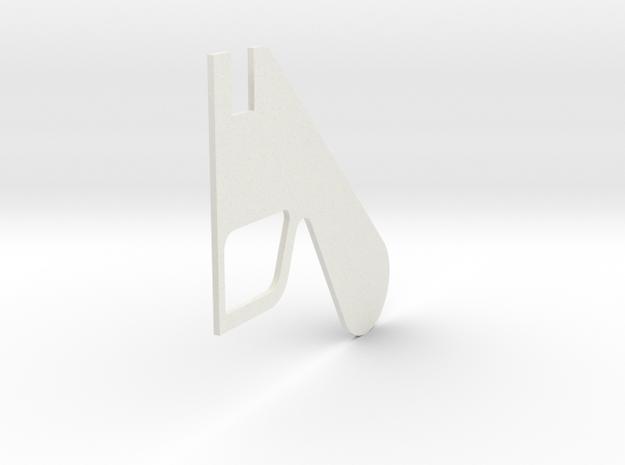 LPA NN-14 - Left grip in White Natural Versatile Plastic