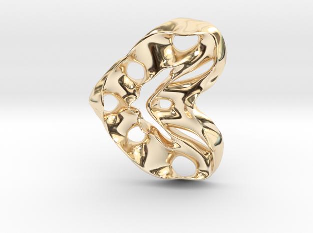 LoveHeart RoyalModel in 14K Yellow Gold