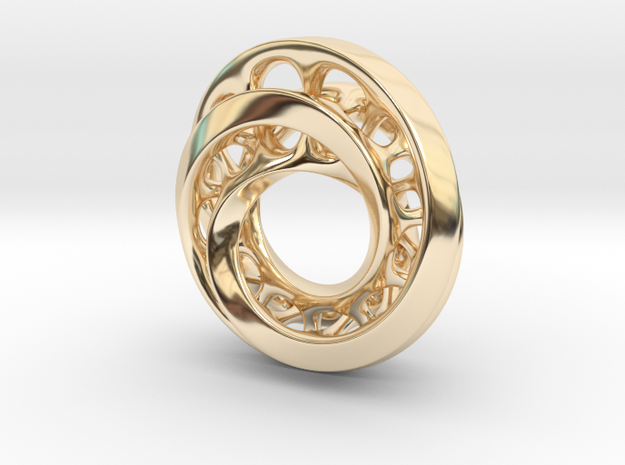 Circle-RoyalModel in 14K Gold