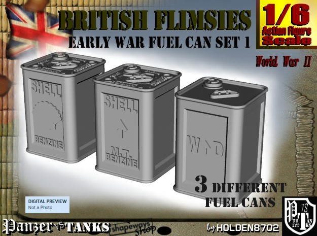 1-6 British Flimsies Can Set1