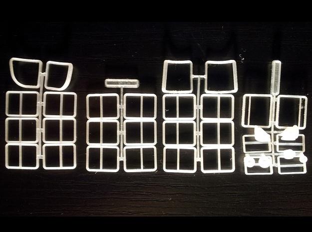 Wien Type T2, L3, L4, L, Fenster in Frosted Ultra Detail