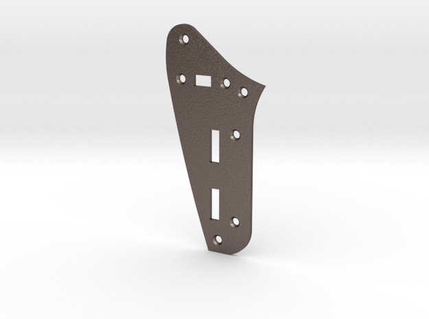 Jaguar Rhythm Circuit Plate - Standard in Polished Bronzed Silver Steel