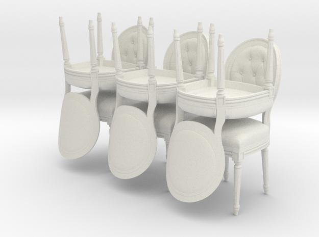 Louis XVI Side Chair Set of 6