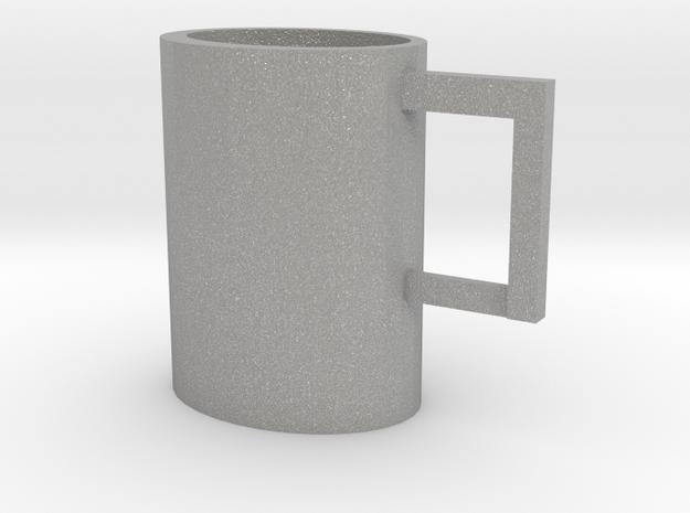 Scrummy Mug in Aluminum