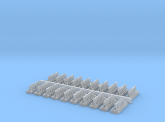 A Frames 6 x 20 - 7mm Scale in Smooth Fine Detail Plastic